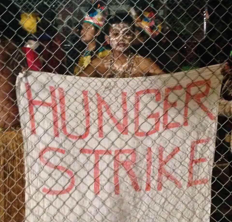 The Change hunger strike